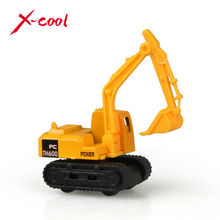 X-cool  Mini Diecast Car construction vehicle Engineering Car Excavator Dump Roller Truck Model Classic Toy gift for friends