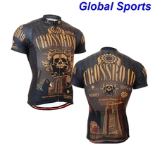 2017 Cool Superhero Cycling Wear Iron Man Batman Superman Captain America Spider-Man Cycling Jersey skulls bike clothing