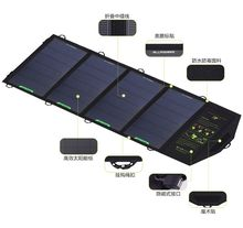 18W 5V Solar Charger for iPhone iPad Samsung Phones and Power Banks, Dual USB Output Fast Charging Solar Charger.