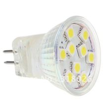 MR11 9LED BULB 5050  SMD1.8W 12V White & warm White For Indoor Display Spot light