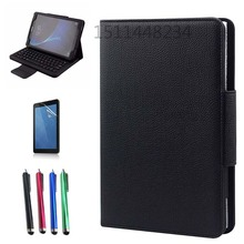 "For Samsung Galaxy Tab A6 10.1"" SM-T580 T585 T580N T585N PU Leather Case+Detachable Wireless Bluetooth Keyboard Stand Cover"