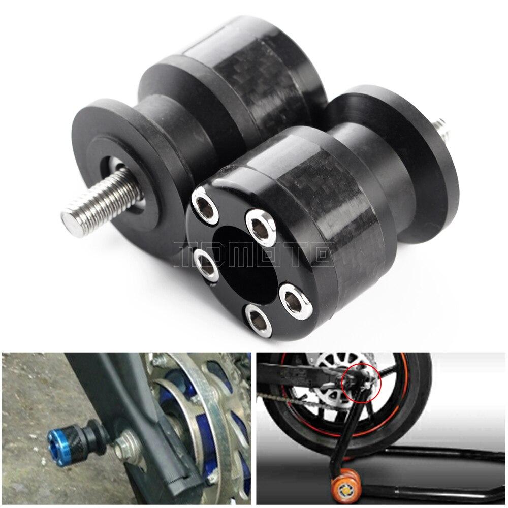 Motorcycle M6 6mm Swingarm Spools Sliders Stand Screws for YAMAHA YZF-R1 YZF-R25 YZF-R3 YZF-R6 FZ8 FZ9 FZ1 FZ6 V-MAX MT-01 MT-25 MT-03 MT-09 FJR1300 XJR1300 TMAX500//530 XJ6//DIVERS10N
