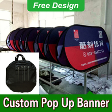 Free Design Free Shipping Horizontal A Frame Banner Custom Pop Up Banners A Frame Banner Display(China)