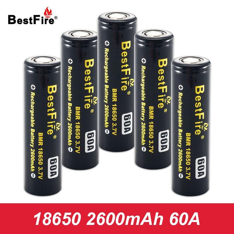 18650 Rechargeable Battery 2600mAh 60A 3.7V Li-ion Battery Vape Box Mod E Cigarette Battery Eleaf IStick Pico 25 Mod