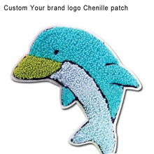 Custom Embroidery chenille patches DIY 200 pieces/lot Your inquiry size towel Material Label Clothing patches Applique garment