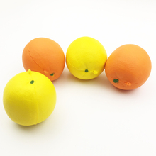 1pc Orange Squishy Slow Rising Scented Simulate Bread Phone Straps Charm Squeeze Stress Stretch Decoration Kids Toy Gift