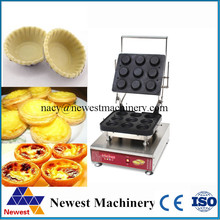 New design reasonable price egg tart making machine,different shaped egg tart shell maker for snack and dessert shop(China)