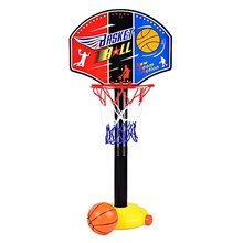 kids sport basketball stand Adjustable Mini Indoor Sports Train Basketball Hoop Toy Set Stand Ball Backboard Net