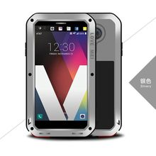 Original Lovemei Waterproof Shockproof Dustproof Aluminum Powerful Phone Case For LG V20 Gorilla Toughened Glass