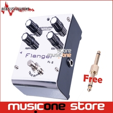 Biyang Tonefancier FL-8 Analog Flanger Electric Guitar Effect Pedal True Bypass with gold pedal Connector