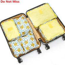 Do Not Miss 6PCS/Set Bag In Bag Waterproof Organizer Bags for Clothes Suit Business Travel Luggage Bag Shoes Clothing Underwear