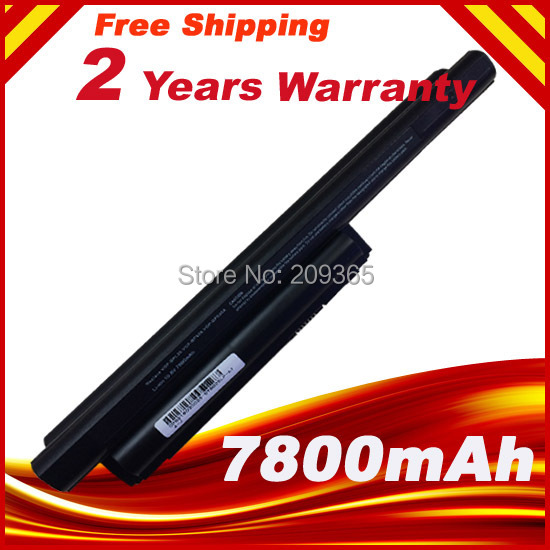 7800mAh 9 Cells battery for sony vaio bps26 VGP-BPL26 VGP-BPS26 VGP-BPS26A SVE141 SVE14A SVE15 SVE17 VPC-CA VPC-CB VPC-EG VPC-EH<br>