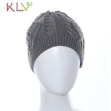 Stylish 2015 Fashion Womens Winter Warm Knit   Knitting hip hop beautiful Hat for lady  random color