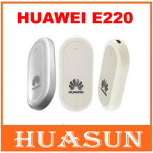 unlocked Original huawei E220 3G wireless usb modem HSDPA 7.2Mbps network card support google android tablet PC free shipping(China)