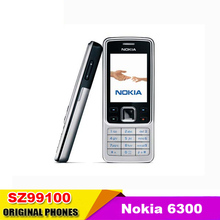 HOT cheap Cell Phone Unlocked original Nokia 6300 classic camera multi language for option used phone(China)