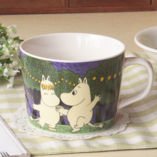 New Japan Cartoon Cute Porcelain Big Ceramic Breakfast Milk Home Cups Mug Collection(China)
