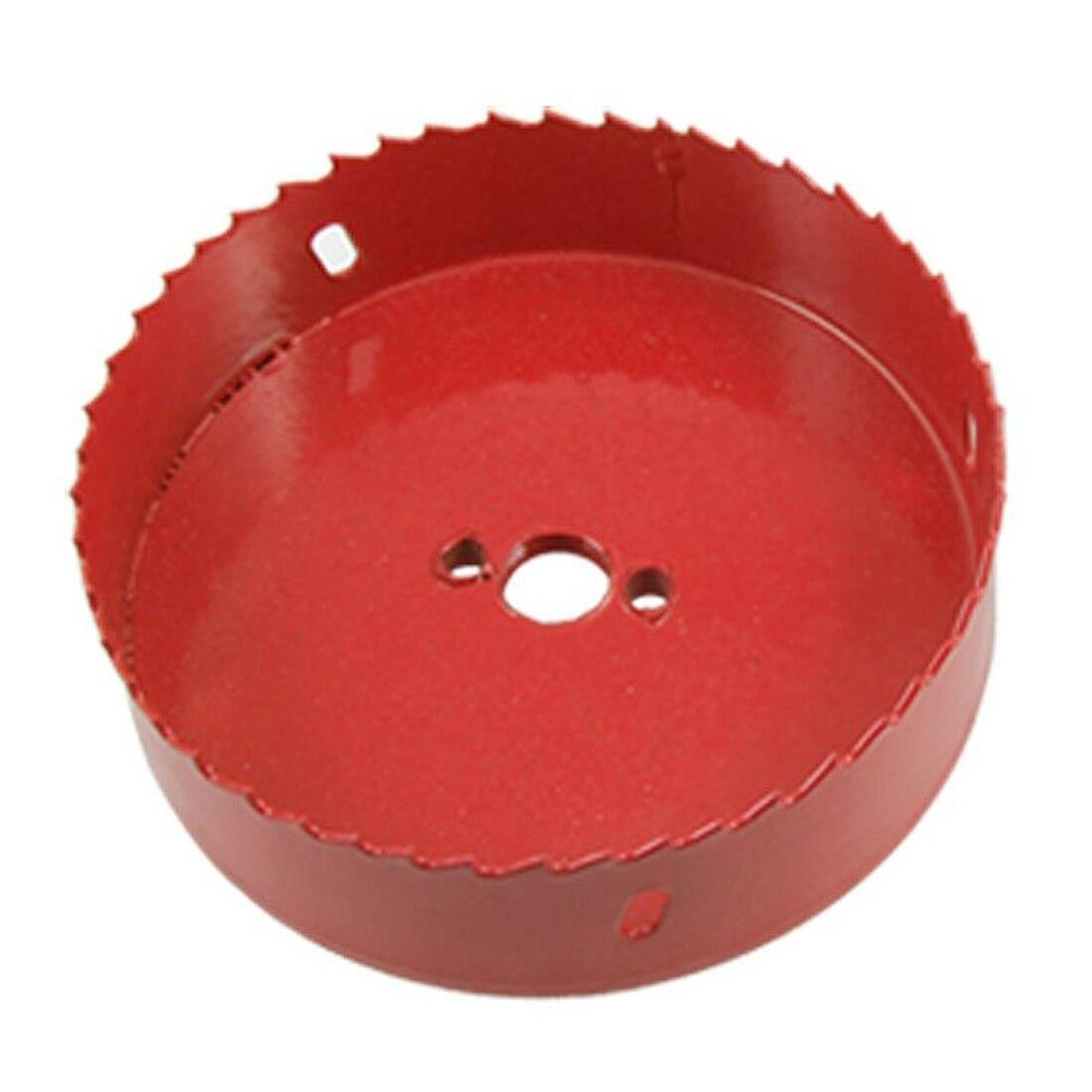 DHDL-120mm Diameter Bimetal Hole Cutter Cutting Holesaw Red<br><br>Aliexpress