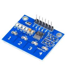 10PCS TTP224 4 channel Switch Touch Sensor Digital Touch Capacitive Module(China)