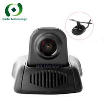 Newest front rear dual Camera record Novatek 96658 HD 1080P Universal Car Hidden phone APP Control Wifi Car DVR Camera cam Video(China)