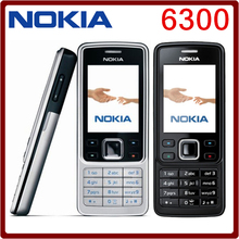 Original Unlocked Nokia 6300 GSM 860mAh Support Russian&Arabic Keyboard Mobile Phone Tri-Band Multi-language  Free Shipping