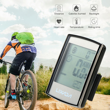 Wireless Bicycle Computer Multifunctional Bike Odometer With Backlight Waterproof Stopwatch Cycling Speedometer Bike Accessories