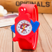 2017 New Famous Brand Children Jelly Cartoon Watch Children Q Version Quartz Watch Kids Casual Watches Relogio Feminino Clock