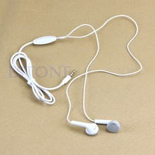 Original Stereo Bass earphone  Metal 3.5mm Earbuds For Samsung S5830 S5630 for Galaxy Tab i9100#L060# new hot