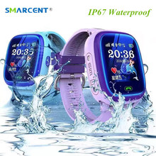 DF25 Child Smartwatch IP67 Swim GPS Touch Phone Smart Watch SOS Call Location Device Tracker Kids Safe Anti-Lost Monitor PK Q50