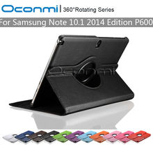 Buy 360 Rotating PU Leather cover case Samsung Galaxy Note 10.1 2014 Edition stand function SM-P600 SM-P601 Tablet cover for $8.99 in AliExpress store