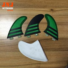 Top quality Green FCS G5 surf fins/surfboard fins fcs/fiberglass surf fins/future fins from alibaba gold supplier(China)