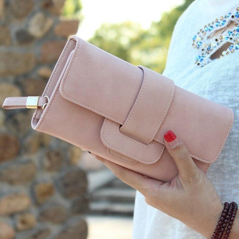 Women Long Wallet Handbag Brand Womens Wallets And Purse Female Clutch Purse Carteiras Femininas Credit Card Holder Coin Purse<br><br>Aliexpress