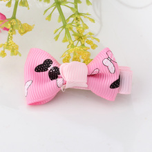 Children Accessories Headwear Flower Bow Hair Ornaments Girls Butterfly Ties Heart Hairpins Babys Ribbon Headdress Hairclips