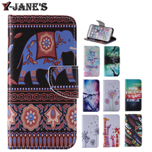 Buy Painted Style Leather Protector TPU Cover Stand Case Wallet Card Slots Phone Case Samsung Galaxy J5 J500 Cases for $3.98 in AliExpress store