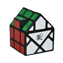 Brand Dayan Bermuda House Magic Cube Black Speed Magic Cube Green Roof Puzzle Cubes Kids Educational Toys(China)