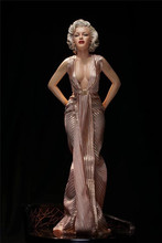 Sexy Beauty Marilyn Monroe Norma Jeane Baker Modern Times Goddess Maid Boin Mikage Kuroki PVC action Figure Collection model Toy(China)