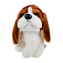 Stuffed Plush Animals Puppies Dogs Chihuahua Spaniel Shepherd Basset Hound Pug Siberian Husky Schnauzer Baby Toddler Soft Toy(China)