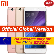 "Original Global Version Xiaomi Redmi 4A 2GB 32GB Mobile Phone Snapdragon 425 Quad Core CPU 5.0"" 13.0MP 3120mAh Battery"