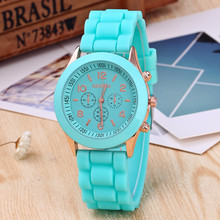 Fashion Sport Watch Quartz Watches Women Colorful Silicone Watch Man Teenage Boys Girl Watches