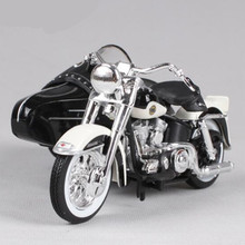 Maisto 1:18 Motorcycle Model Retro Harley Metal & Alloy Motor Cycle Simulation Miniature Car Toys Motor Toy For Collection Gift