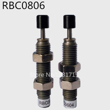 SMC type RBC0806 pneumatic oil pressure buffer Hydraulic damper M8*1(China)