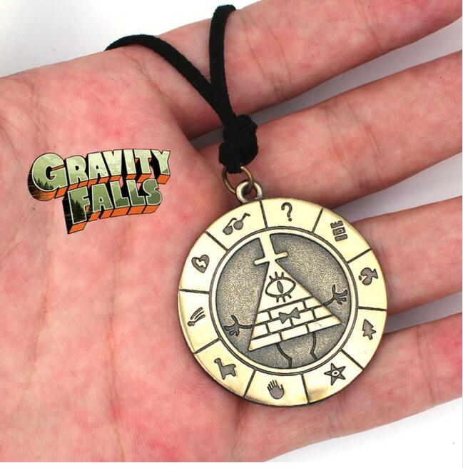 Gravity Falls Lil/' Gideon Cartoon Necklace Metal Pendant Rope Cosplay Kids Gift