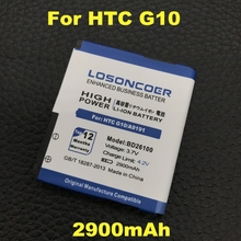LOSONCOER 2900mAh BD26100  For HTC HD Desire A9191 battery G10 7 Surround T8788 Inspire 4G A9192 battery