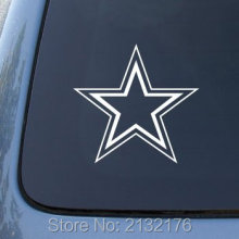 DALLAS COWBOYS - Football 5.5'' die cut vinyl decal for window, car, truck, tool box, laptop, MacBook