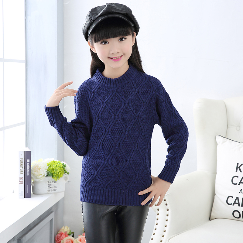 9b7c2564b High Quality Autumn And Winter Girl Thick Pullover Sweaters ...