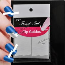 2 Packs White French Nails Art Tips Tape Manicure Sticker Guide Stencil Charming DIY W14