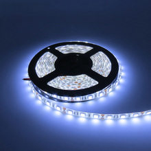 5M flexible White led strip light 5050 60leds/M DC12V waterproof IP65 coated with layer of epoxy glue or silicon led rope RGB(China)