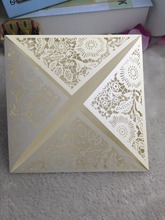 25pieces Laser cut Invitation Cards,Birthday Greeting Cards Handmade Wedding Invitation Cards Beautiful Invitation Cards