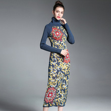 Buy Jacquard Sexy Dress 2017 Womens Winter Sweaters Maxi Vintage Fashion Women Club Formal Dress Knit Long Party Ladies Dresses for $96.16 in AliExpress store