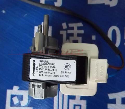 shaded pole motor EM3020L-C07/A03 23W/3.5W2200r/min refrigeration parts fridge motor<br>