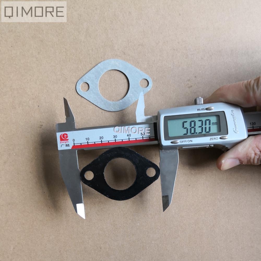 GY6-150 intake manifold spacer 4